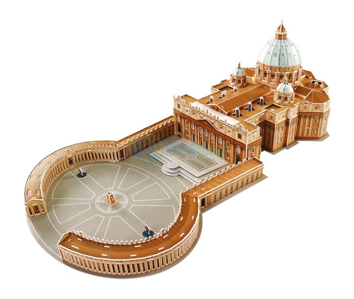 3D puslespil - St. Peter Cathedral