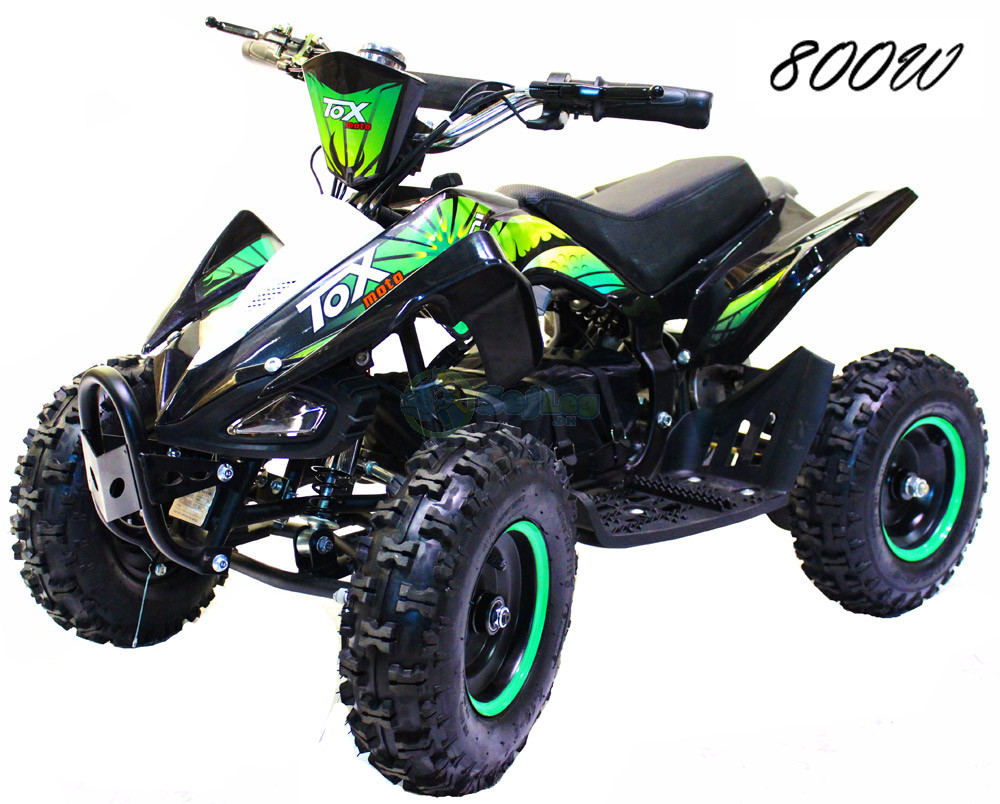 GreenPower 800W El-ATV  til Børn - Model Tox Moto