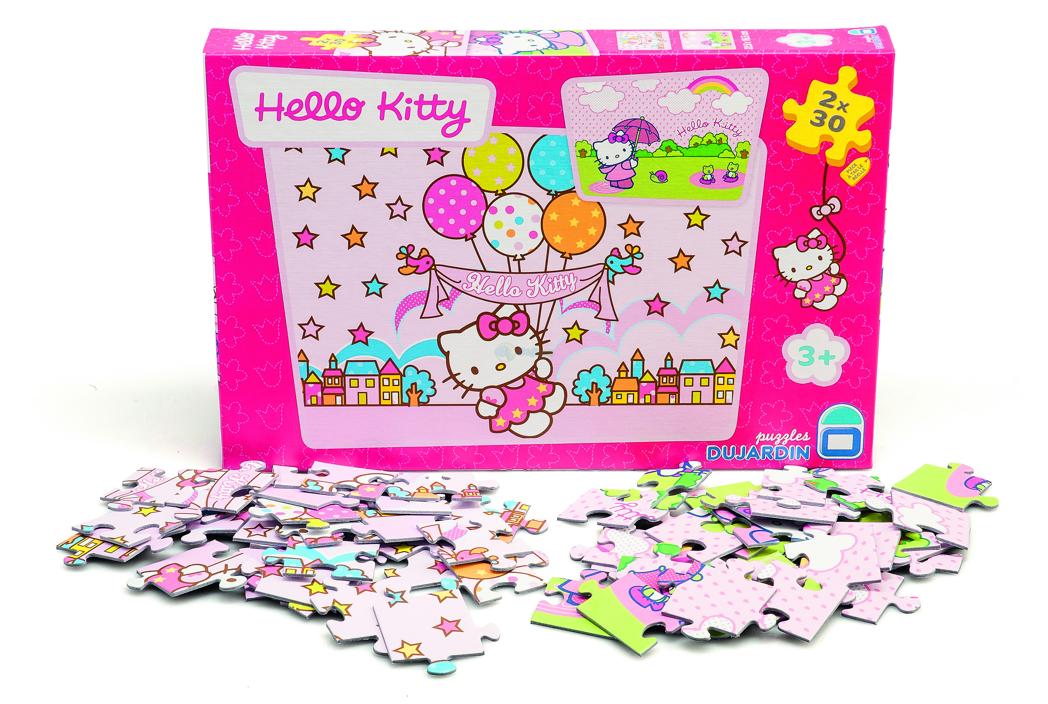 Hello Kitty Puslespil - Party