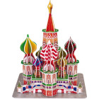 3D puslespil - St. Basil Cathedral