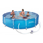 Bestway Steel Pro Frame Pool 366 x 76cm m/filter pumpe