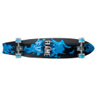 California Longboard Cruiser Skateboard - Flame