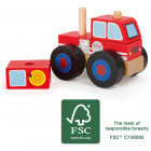 Construction - Vechile fire engine FSC 100%