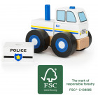 Construction - Vechile Police Car FSC 100%