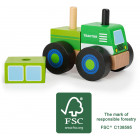 Construction - Vehicle Tractor FSC 100%