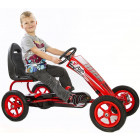 Pedal Gokart med Gummihjul - Model F8-1 Red