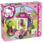 Hello Kitty klodser - Bil med garage
