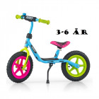 "12"" Løbecykel Dusty fra Milly Mally - 3 til 6 år i Multi colour"
