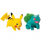 Pokemon Articulation figur - Bulbasaur vs Pikachu