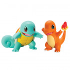 Pokemon Articulation figur - Squirtle vs Charmander