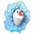 Olaf Frozen 3D lampe fra Philips Lighting