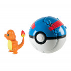 Pokemon Pokeball inkl. figur - Charmander