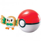 Pokemon Pokeball inkl. figur - Rowlet