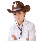 Brun Sheriff hat
